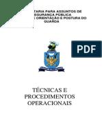 Técnicas Operacionais Guarda