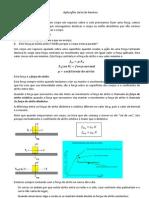 Aplicações da lei de Newton