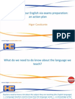 Exams Preparation for Language Improvement