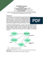 DPSIR Overview