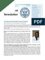 Winter 2014 Newsletter Juan Ortiz surgery