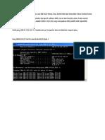 Buka Command Prompt Dengan Cara Klik Start Menu