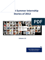 The 15 Best Summer Internship Stories of 2012