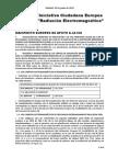 MANIFIESTO DE LA INICIATIVA CIUDADANA EUROPEA SOBRE RADIACIÓN ELECTROMAGNÉTICA