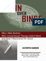 Brain Over Binge - Hansen Kathryn