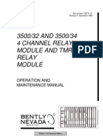 3500 32 and 34 Four-Channel Relay Module Operations & Mainten