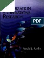 Optimization in Operation Research_Rardin-1998