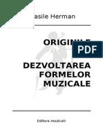 Vasile Herman. Forme Muzicale