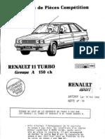 Renault Clio Williams 16vr11+gr+a+150ch