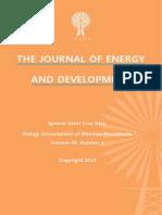 """""""Energy Consumption of Mexican Households,""""  by Ignacio César Cruz Islas"""