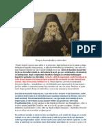 Discernamatul Duhovnicesc , Darul Inainte Vederii