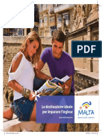 English Language Brochure - Italian