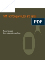 SIM Technology Evolution and Trends - Federico Giannattasio - GEMALTO