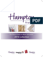 Hampton Frames 2014 Catalogue