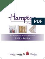 Hampton Frames 2014 Catalogue