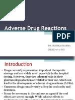 Adverse Drug Reactions ,Deepika