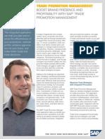 Trade Promotion Management  SAP Trade Promotion Management