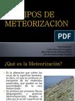 TIPOS DE METEORIZACIÓN-geologia