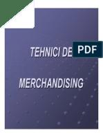 Tehnici de Merchandising CURS