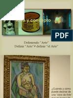 apreciación y valoración obra de Arte