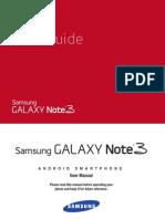 Verizon Wireless Samsung Galaxy Note 3 Manual