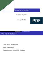 exploting Kernel
