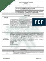 Fundamentacion Pedagogica de La Formacion Profesional Integral en El Enfoque Para El Desarrollo Competencias Ver 1