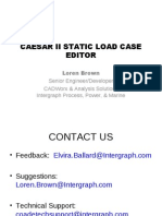 c2_static Load Case Editor