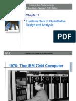 Chapter 1 (Fundamentals of Quantitative Design and Analysis)