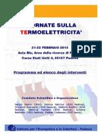 Conferenz Termoelettrica Padova