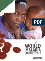 World Malaria Report 2013