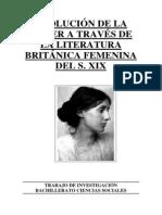 EVOLUCIÓN MUJER EN LITERATURA BRITÁNICA FEMENINA DEL S. XIX