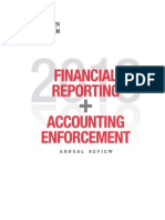 140123 Financial Reporting Accounting Enforcement Annual Review