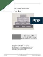 The VIrtual Art Academy Building Blocks