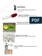 Kitchen Utensils & Equipment