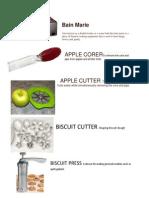 Kitchen Utensils & Equipment