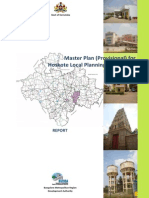 1.Hoskote Master Plan Final Report 03-10-2013