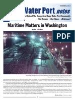 CT Maritime Deep water port  Nov 2013