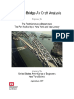 Bayonne Bridge Air Draft Analysis