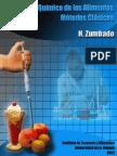Análisis Químico de los alimentos - Zumbado