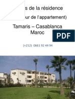 Casablanca Appartement balnéaire meublé à louer