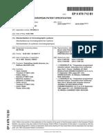 EP0878712B1 Standardization of chromatographic systems