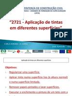2721 - Aplicaao de Tintas Em Diferentes Superficies