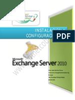 Instalacion de Exchange Server 2010