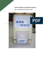 Bomba de Infusion Aramis by Hamilton Medical