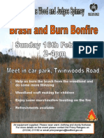 Browns Wood February Event Poster