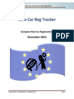 Lighthouse - European New Car Registrations - 2013 - December
