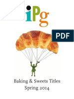 IPG Spring 2014 Baking & Sweets Titles