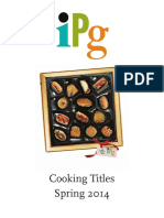 IPG Spring 2014 Cooking Titles