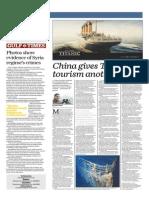 China Gives Titanic Tourism Another Twist - Gulf Times 23 Jan 2014